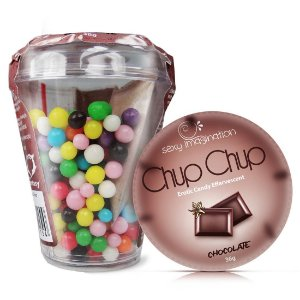 Chup Chup Erotic Candy Effervescent Chocolate Sexy Fantasy - Sexshop