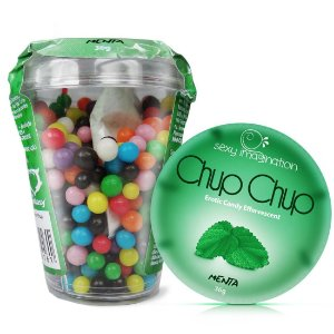 Chup Chup Erotic Candy Effervescent Menta Sexy Fantasy - Sexshop