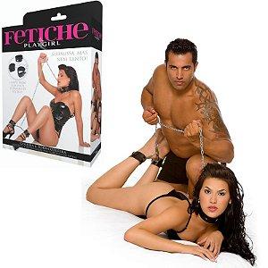 Coleira Erótica e Algema de Tornozelos - Sex shop