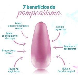 Cone com pesinho para Pompoar Rosa 20g - Sex Shop