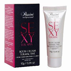 Creme Termoativo SexyTerapia 10gr Pessini - Sexshop