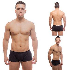 Cueca Boxer Velcro Gogo Boy Faixa Lateral Pontilhada - Sexyshop