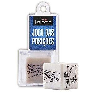 Dadinho de Posições Jogo das Posições HotFlowers - Sex shop