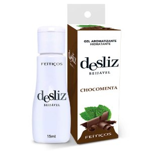 Desliz CHOCOMENTA Gel Beijável Hot 15ml Feitiçoes - Sex shop