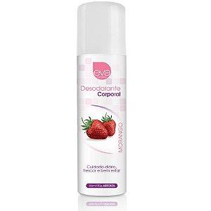 Desodorante Intimo 166ml - Morango - Eva Cosméticos - Sexshop