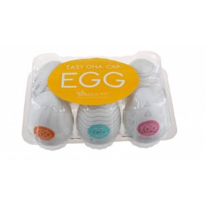 EGG Magical Kiss - Masturbador Masculino - Caixa com 6 Unidades - Sexshop