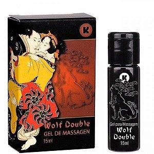 Esquenta e Esfria Kgel Wolf - Double 15ml - Sex shop