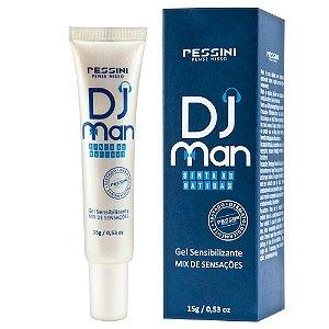 Excitante Masculino Dj Man 15g Pessini - Sex shop