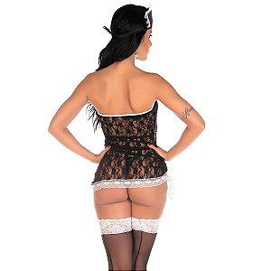 Fantasia Empregada Sexy Pimenta Sexy - Sexshop