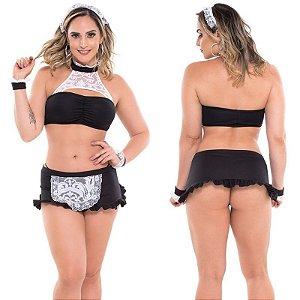 Fantasia Erótica Empregadinha Renata Sapeka - Sex shop