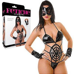 Fantasia Feminina Mulher Aranha - Sexshop