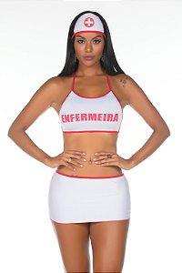 Fantasia Luxo Enfermeira Pimenta Sexy - Sex shop