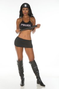 Fantasia Policial Star Sexy Pimenta Sexy - Sexshop