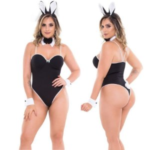 Fantasia Sensual Body Coelha Electra Sapeka - Sexshop