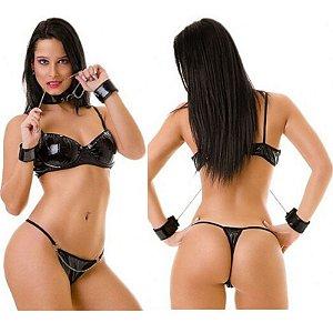 Fantasia Sensual Erótica Escrava do Sexo - Sexshop