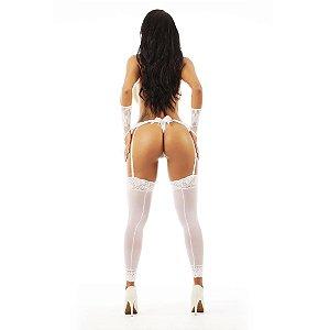 Fio Dental Liga Pimenta Sexy Branca - Lingerie