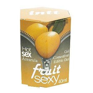 Fruit Sexy AMARULA Hot Gel Comestível 40ml INTT - Sex shop