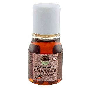 Gel Comestível Hot CHOCOLATE TRUFADO 15ml Chillies - Sex shop