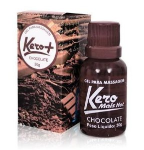 Gel Comestível Kero Mais Chocolate 30gramas - Sexshop