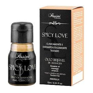 Gel Comestível Spicy Love 15ml Pessini Amarula - Sexshop