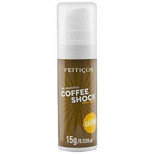 Gel Eletrizante Coffee Shock Aromático 15g Feitiços - Sex shop