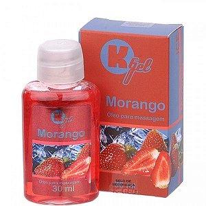 Gel Estimulante KGEL Ice Morango 30ml - Sexy shop