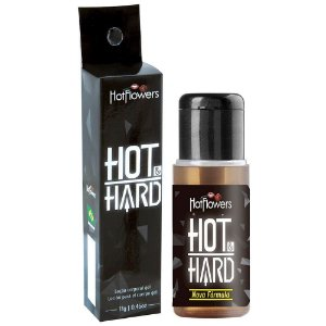 Gel prolongador de ereção Hot Hard 13gr Hot Flowers - Sexshop