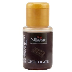 Gel Quente Aromatizante Chocolate 15ml Hot Flowers - Sex shop