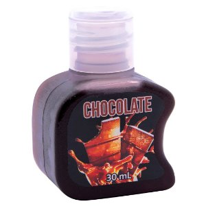 Gel Quente Comestível Chocolate 30ml SoftLove - Sex shop