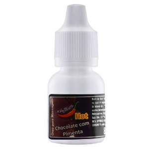 Gotas do Prazer Aromática Chocolate com Pimenta 8ml Chillies - Sexshop