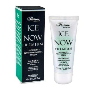 Ice NOW! Premium Gel Gelado Comestível Menta Marroquina 35ml Pessini - Sex shop