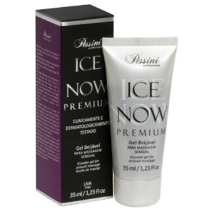 Ice NOW! Premium Gel Gelado Comestível Uva 35ml Pessini - Sex shop