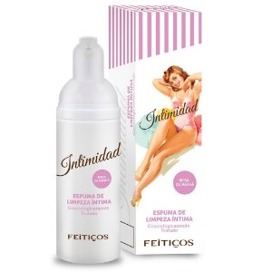 Intimidad Espuma de limpeza íntima 50ml Feitiços - Sexshop