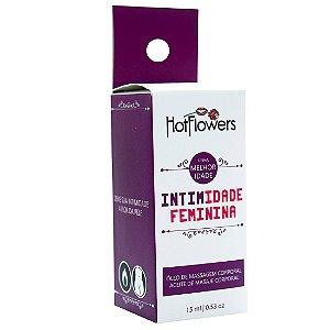 Intimidade Estimulante Sexual Feminino 15ml HotFlowers - Sex shop