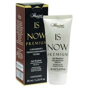 Is NOW! Premium Gel Quente Comestível CHOCOLOKO 35ml Pessini - Sex shop