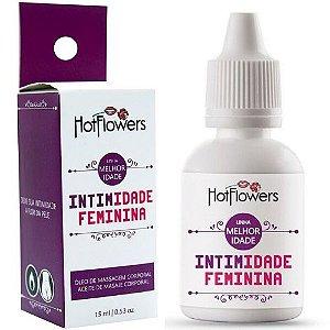 Kit 03 Intimidade Estimulante Sexual Feminino 15ml Hot Flowers - Sex shop