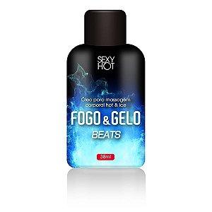 Kit 03 Óleo para massagem beijável FOGO E GELO - Sex shop