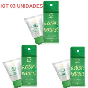 Kit 03 Retardante Masculino Action Retard 10g Sexy Fantasy - Sexshop