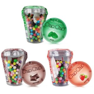 Kit 03 Sabores Chup Chup Erotic Candy Effervescent - Sexshop