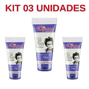 Kit 03 Unidades Bom De Cama Retardador Masculino 15gr 40Graus - Sexshop