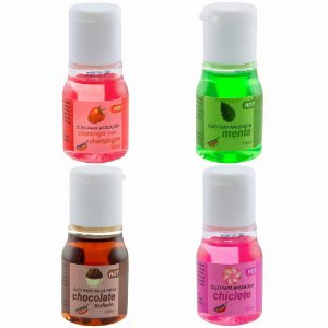 Kit 04 Gel Comestível Hot 15ml Chillies - Sex shop