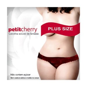 Kit 05 Calcinhas Solúvel Plus Size PetitCherry - Sex shop