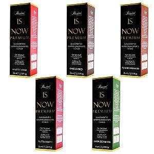 Kit 05 Is NOW! Premium Gel Quente Comestível 35ml Pessini - Sex shop