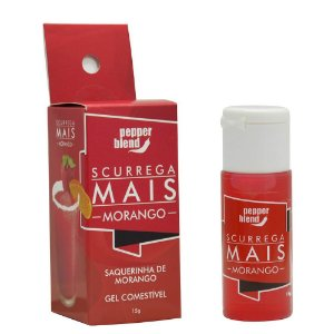 Kit 07 Gel comestível Scurrega Mais - 15g Pepper Blend - Sex shop