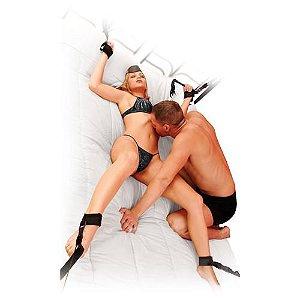 Kit Bondage 4 amarras Onça - Revelle - Sex shop