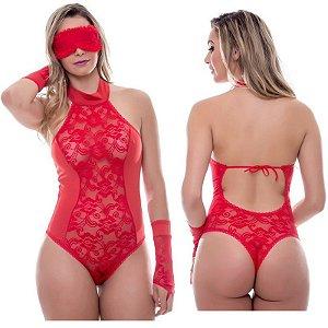 Kit Fantasia Body Amércia Sensual Love - Sexshop