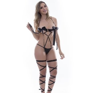 Kit Fantasia Body Gizele Sensual Love - Sexshop