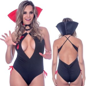 Kit Fantasia Body Vampira Sensual Love - Sexshop