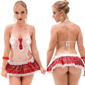 Kit Fantasia Colegial Dandara Sapeka - Sex shop