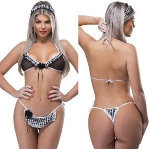 Kit Fantasia Desejos Empregada Sexy Fantasy - Sex shop